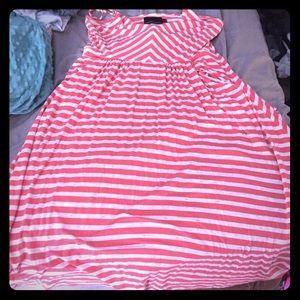 Cynthia Rowell striped dress with pockets size xl